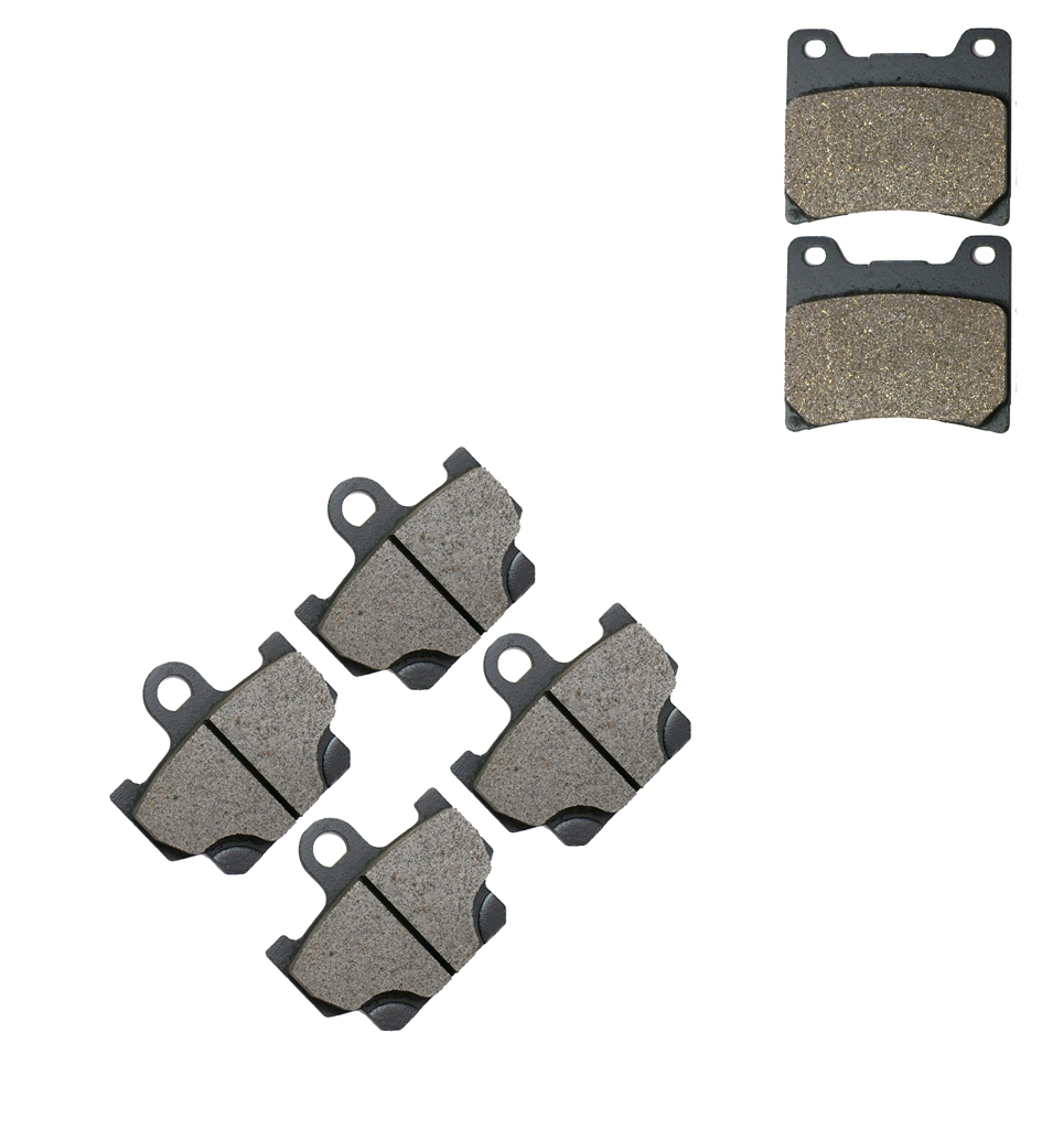 1984-1985 Rear Quality Brake Pads RZ350 RD350 YPVS Yamaha Front 1983