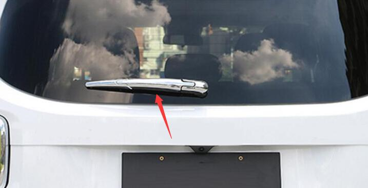For Jeep Grand Cherokee 2011 2016 Chrome ABS Rear Window Wiper Cover Trim in Bumpers from Automobiles Motorcycles