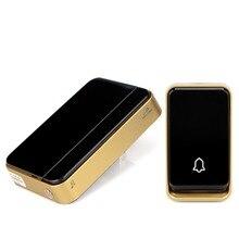 Battery Free Wireless Doorbell Waterproof Transmitter Digital Door Chime 51 Kinds of Melody Ac/dc Wireless Door Bell F1759A