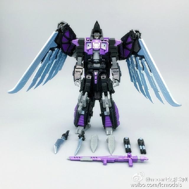 FÃS MODELO IN-STOCK neoart brinquedos Transformação robot ko MMC Predaking Divebomb escuro freeshipping
