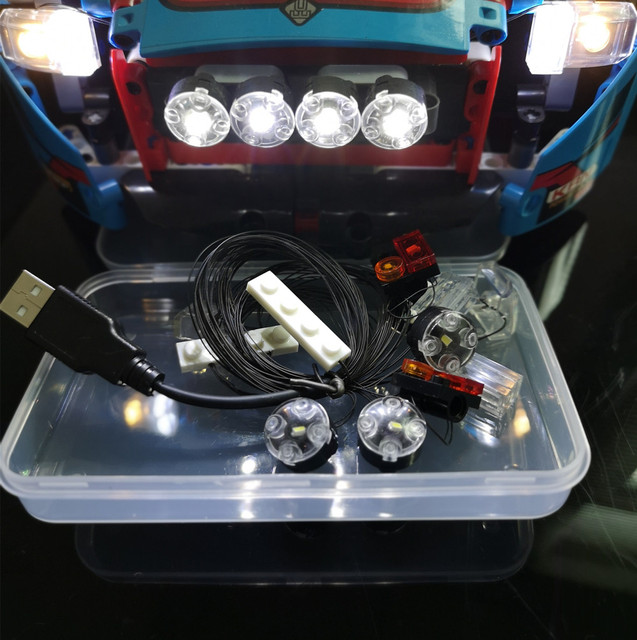 Remarkable Led Light Up Kit For Lego 42077 And 20007 The Rally Car Brick Set Wiring 101 Relewellnesstrialsorg