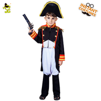 Kids Napoleon Costumes Martial Arts General Costumes For Boys Fancy Dress Halloween Party Costumes Decorations Supplies