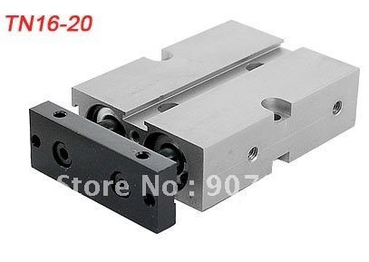 Free Shipping 10pcs A Lot Dual Lever 16mm Bore 20mm Stroke Air Cylinder TN16-20