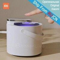 Xiaomi Mijia оригинальный москитный убийца лампа USB Электрический фотокаталитический репеллент против комаров насекомых УФ-лампа ловушка для ко...