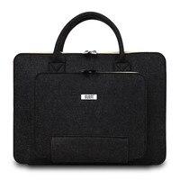 YUNAI Portable Felt Laptop Handle Bag Computer Notebook Carry Bag Case Cover Laptop Proctector Inner Package