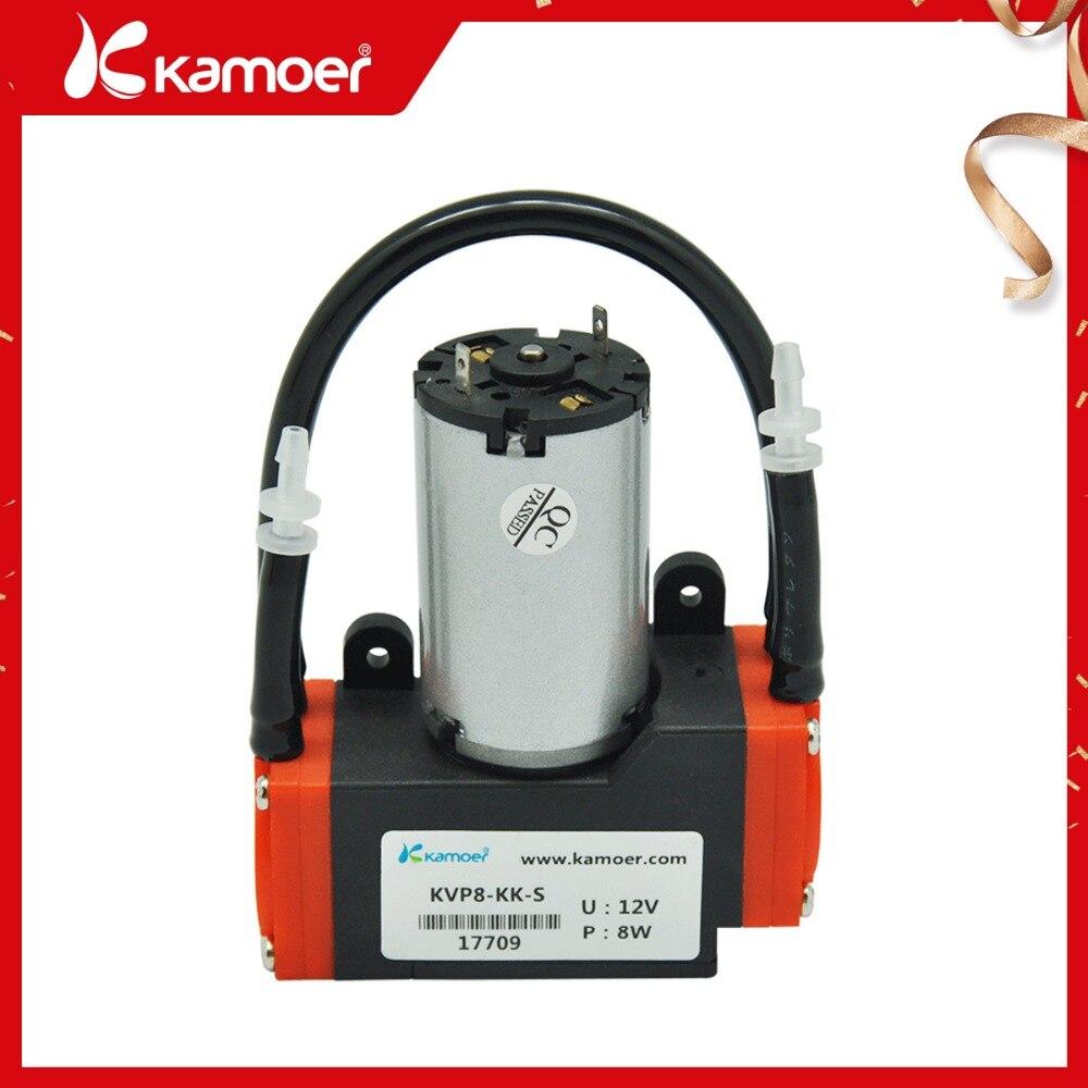 Kamoer KVP8 12 В/24 В DC вакуумный насос с щеткой/бесщеточный двигатель, бесплатная доставка