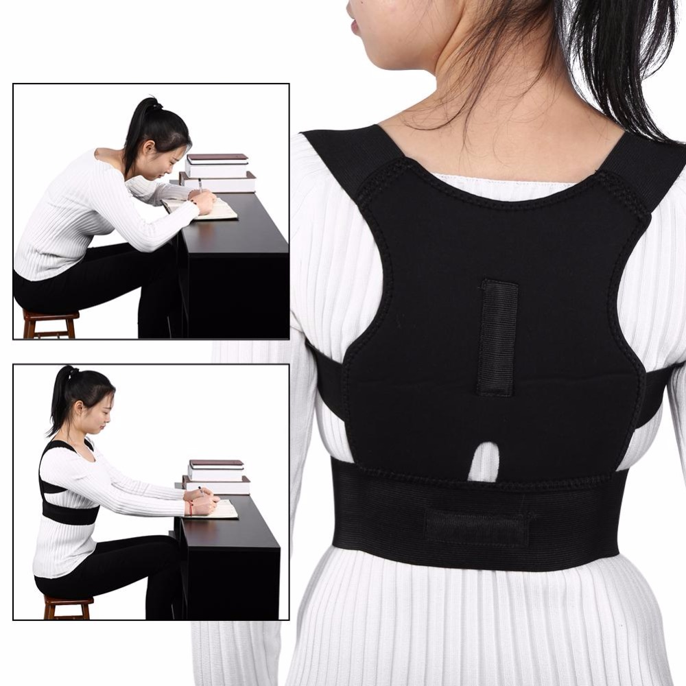 High Quality Adjustable Posture Corrector Belt to Support Back and Spine for Men and Women Suitable to Pull the Back for Body Shaping 1