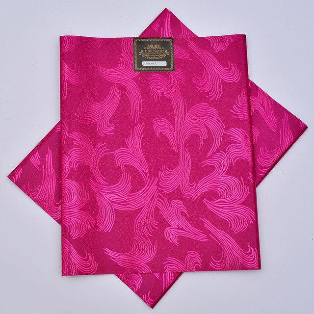 SL-1518, thiết kế mới, headties Sego AFRICAN, Gele & wrapper, pcs/set 2, chất lượng cao, nhiều màu sắc có sẵn, fushia hồng