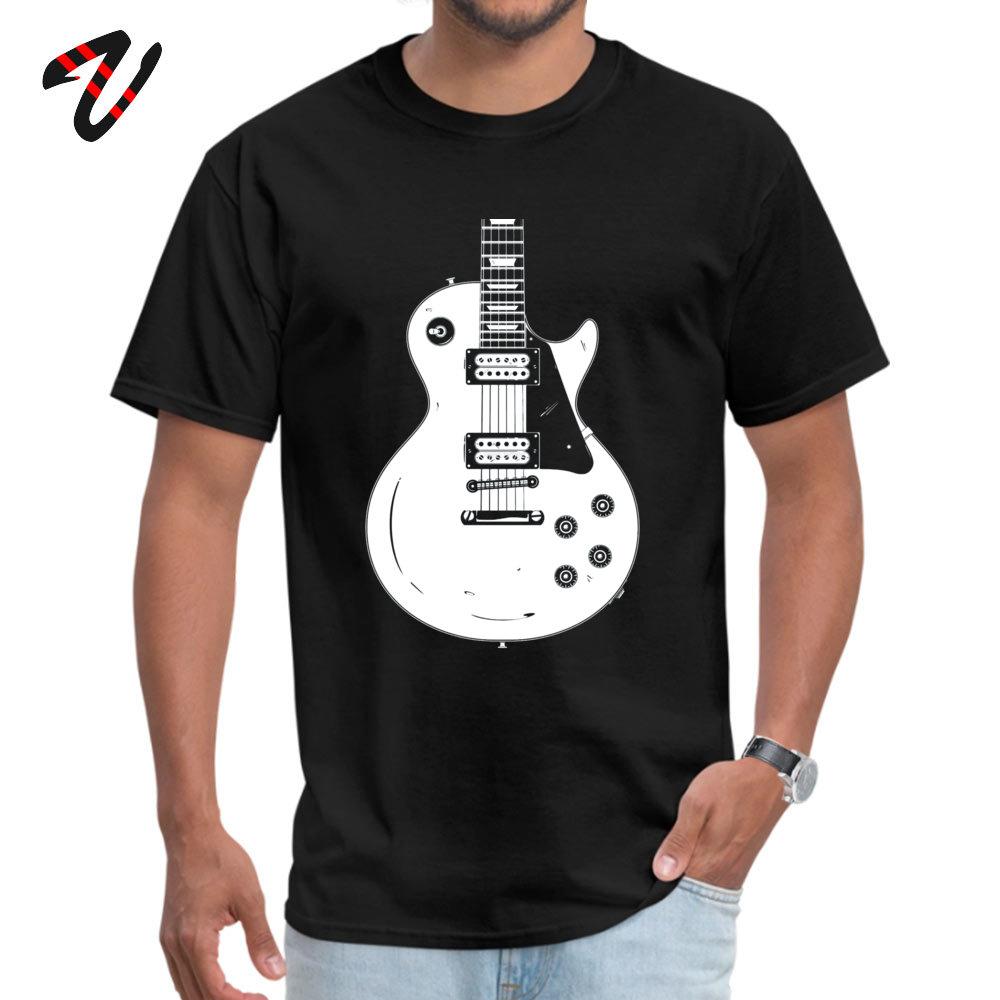 Les Paul белый с принтом День отца 100% хип-хоп Для мужчин's футболка утболки купоны Post Malone рукавом Черный футболки
