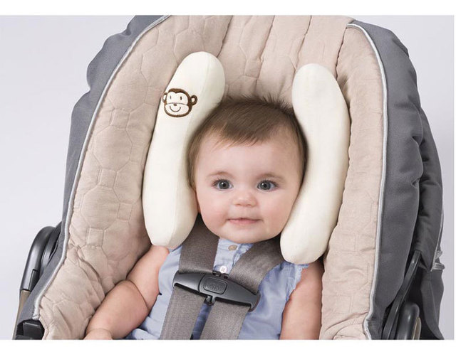 Baby Pillow Infant Car Seat Neck Protector Buggy Head Assistant Adjustable Support Crash