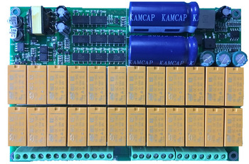 Intelligent Protective Board Lithium Iron Phosphate Ternary Lithium Battery Unit Display Balanced BMS 24S фото