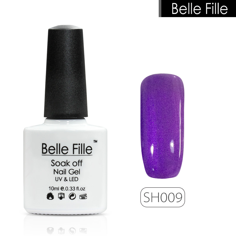 Belle Fille Shell 10мл Shell Gel Nail Polish 12 - Маникюр - фото 4