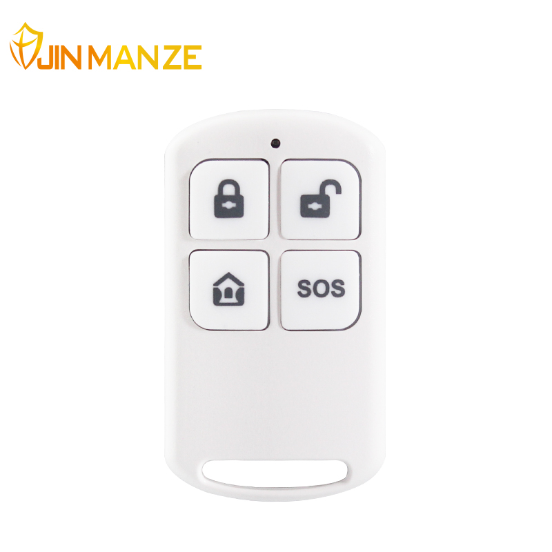 JINMANZE Free shipping Wireless High-grade Remote Control 433 MHz Key for PG103 WIFI GSM Security Home Alarm System