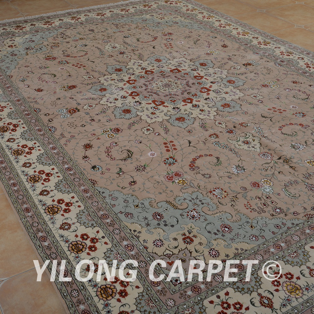 Yilong 10u0027x14u0027 Turkish Wool Rug Manufacturers Handmade Exquisite Pink Wool  Carpet Suppliers (1494) In Carpet From Home U0026 Garden On Aliexpress.com |  Alibaba ...
