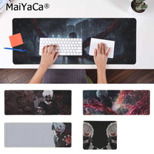 MaiYaCa 2018 New Tokyo Ghoul Natural Rubber Gaming mousepad Desk Mat Rubber PC Computer Gaming mousepad maiyaca hot sales anime steins gate natural rubber gaming mousepad desk mat large lockedge mousepad laptop pc computer mouse pad