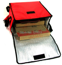 New Style 30L thicken Pizza delivery bag for 5pcs 13 pizza boxes or one 13 cake