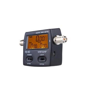 Walkie Talkie Digital Power Meter SWR Standing Wave Ratio Energy Meters LED Backlight Wattmeter Single Phase120W for HAM Radio