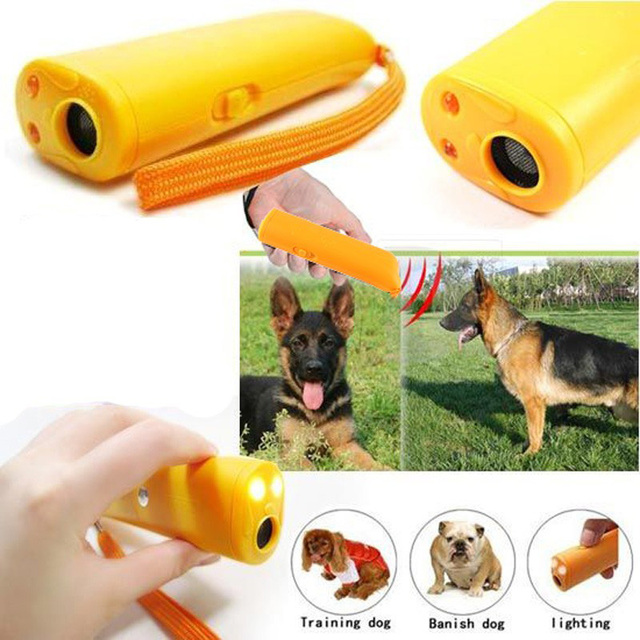 Anti-Barking Dog Repeller Pet Training Ultrasonic Device