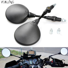 Custom 8mm 10mm Universal Motorcycle Mirror Folding Side Mirrors motorbike Rearview Mirror For yamaha Honda Suzuki Kawasaki bmw universal 8mm 10mm motorbike side mirror for honda suzuki yamaha kawasaki accessories scooter mirror motorcycle rearview mirrors