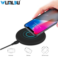 WLMLBU Wireless Charger For IPhone 8 X 8 Plus 10W Qi Fast Wireless Charging Pad Wireless