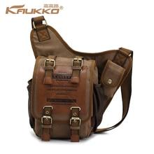 Cool Men's Shoulder Bag Casual Messenger Multiple Pockets