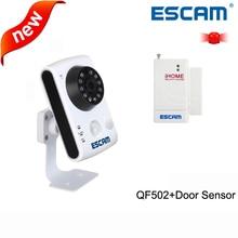 ESCAM 1MP wifi font b camera b font QF502 plug play support two way Audio internal