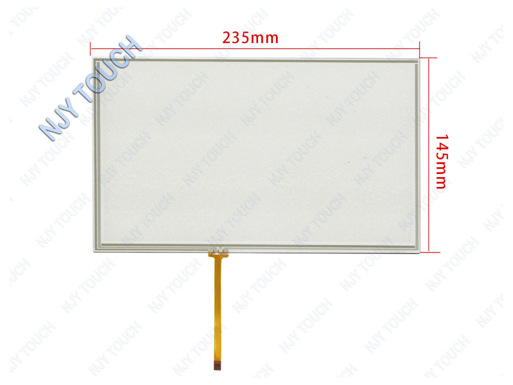 Free Shipping 10.1 Inch 4 Wire Resistive Touch Screen Panel Glass ...