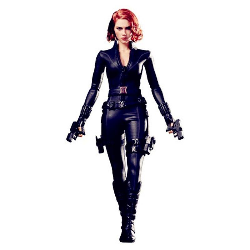 Avengers:Infinity War Superhero Secret Service Black Widow 1/6 PVC Action Figure Collection Model Toy G1157 цены