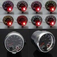 Mayitr عالية الجودة 12 فولت العالمي 3.75 بوصة سيارة مقياس سرعة الدوران tacho مع الملونة ضوء التحول 0-8000 دورة في الدقيقة