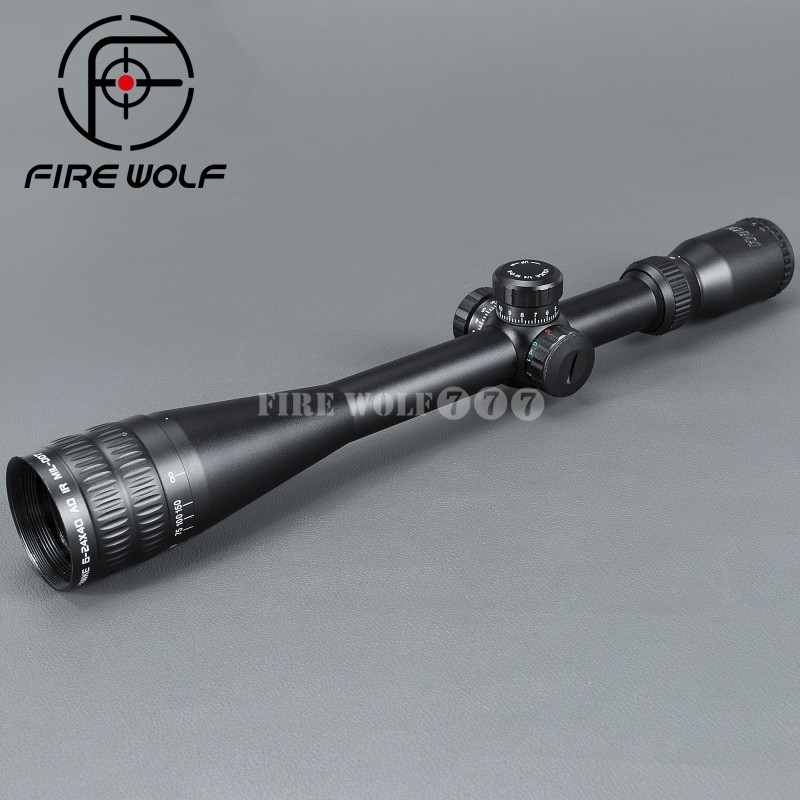 Sport 6-24x40 AOE Riflescope Illuminated Riflescope Reticle Rifle Sniper Scope For Hunting Scopes Red Dot Ak 47 hawke sport 3 12x50 aoe riflescope r