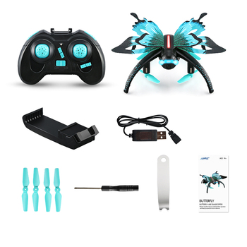 JJRC H42WH WIFI 0.3MP Camera 6 Axis 2.4G 4CH Voice Control Altitude Hold Mode Butterfly-like RC Quadcopter Multirotor Toys