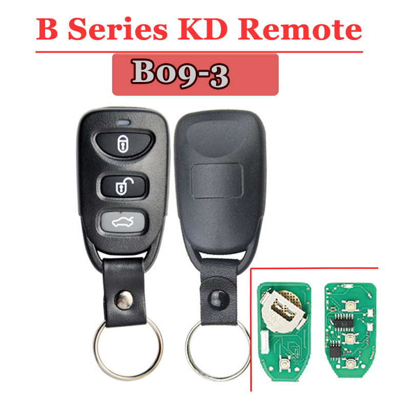 Free Shipping (1 Piece)B09-01 3 Button B Seires Remote Key For URG200/KD900/KD200 Machine