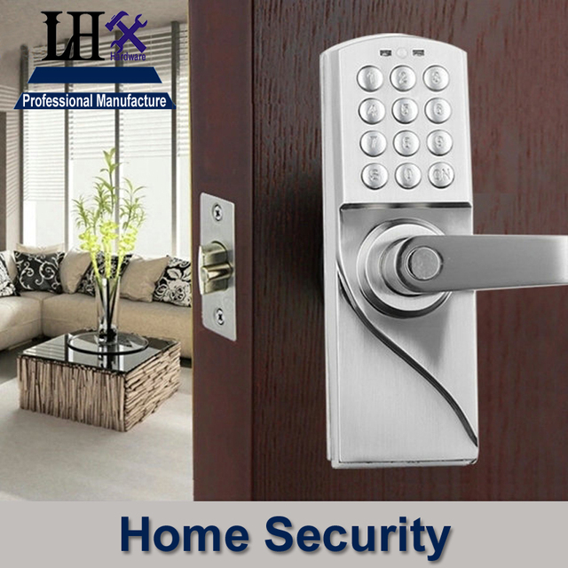 digital office door handle locks. LHX OS7717R Digital Electronic Handle Door Lock Keyless For Bedroom Office Hotel Home Security Women Dress Locks