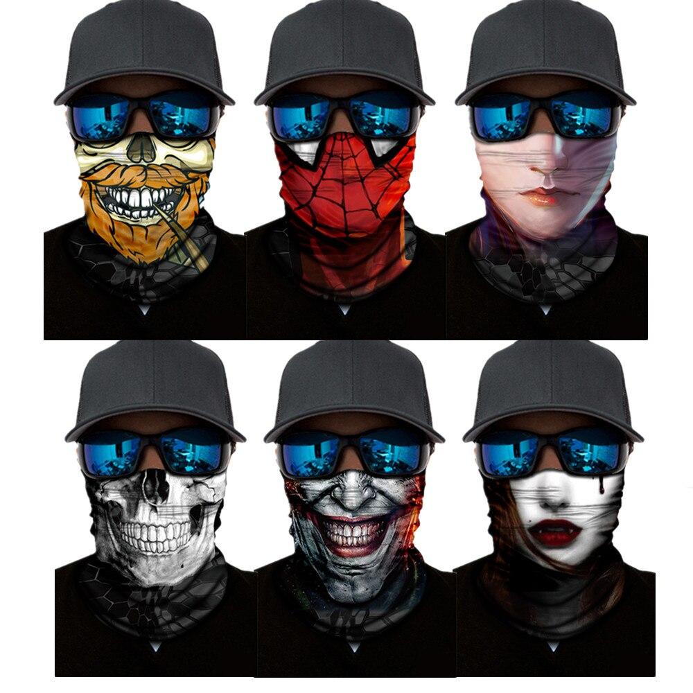 Camouflage Python Pattern Seamless Magic Headband Bandana Hijab Tube Snake Neck Military Face Mask Scarf Bicycle Head Headwear