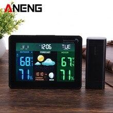 font b Digital b font LCD Wireless Weather Station font b Clock b font Alarm
