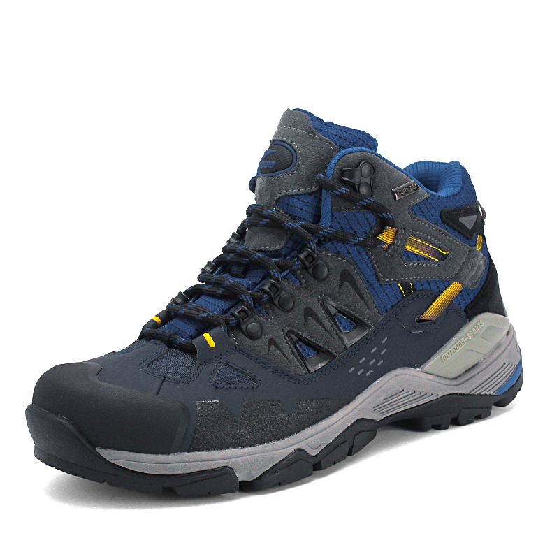 ФОТО Baideng New type Anti collision outdoor climbing shoes mountaineering shoes hiking shoes big size male female three colour 8098