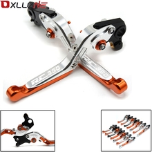 FIT FOR KTM DUKE 125 200 390 RC 125 200 RC 390 2013 2014 2015-2017 2018 CNC MOTORCYCLE BRAKES CLUTCH LEVERS WITH LOGO RC390 DUKE цена в Москве и Питере