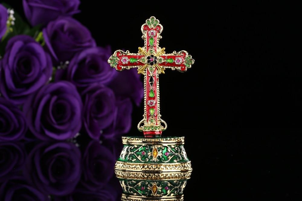 Desain terbaru salib berwarna-warni logam