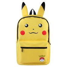 MeanCat японского аниме Покемон Пикачу рюкзак школьный прекрасные уши желтый  рюкзак Пикачу маски 036616dc182