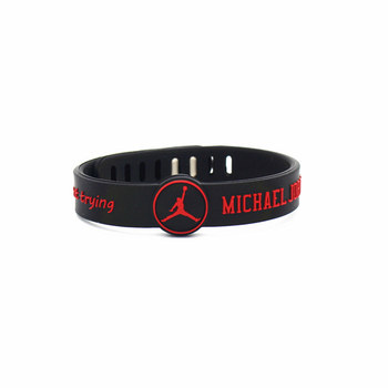 Basketball star adjustable sports Silicone Wristband  bracelet 4