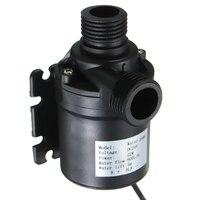1pc Mini Brushless Water Pump 12V 24V ZYW680 Solar Water Circulation Pump DC Motor 800L H