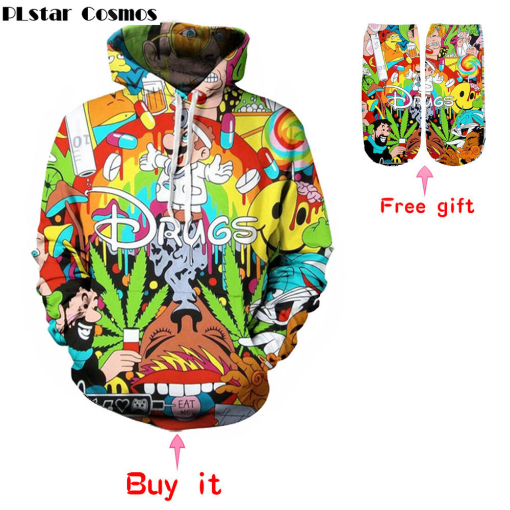 New Women Men Cartoon Super Mario 3D print Hoodie Colorful
