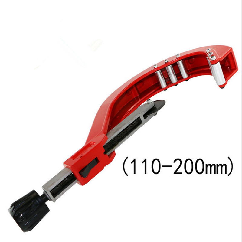 Free shipping DN 110-200mm pipe cutter PPR / PE / PVC plastic pipe cutter knife cutter cut knife dongli ct 274 brass pipe cutter knife cutter 4 28mm refrigeration tools