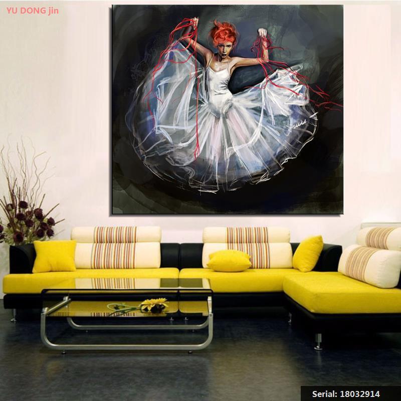 Slikarstvo Balet Mrtva priroda Sažetak ulje Slikarstvo Umjetnost - Kućni dekor - Foto 2