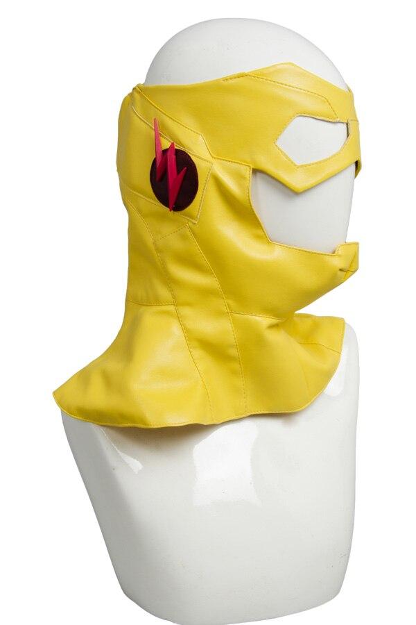 Jeune Justice saison 2 enfant Flash tenue Original 100% Cosplay Costume pour Halloween Costume de fête ceinture gants masque pantalon ensembles supérieurs - 5
