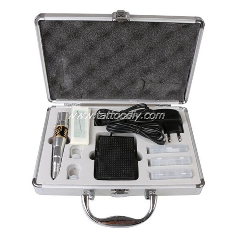 Permanent Makeup Kit Tattoo Eyebrow Lip Machine Equipment WenM-004 Free Shipping 35000r import permanent makeup machine best tattoo makeup eyebrow lips machine pen