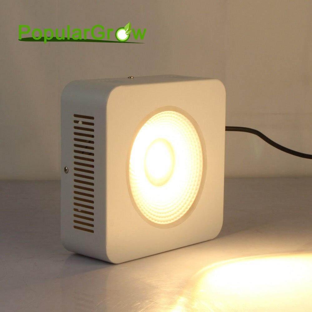 Populargrow 200 w full spectrum led élèvent la lumière avec cree cob puce pour hydroponique à effet de serre tente commerciale plantes médicinales croissance