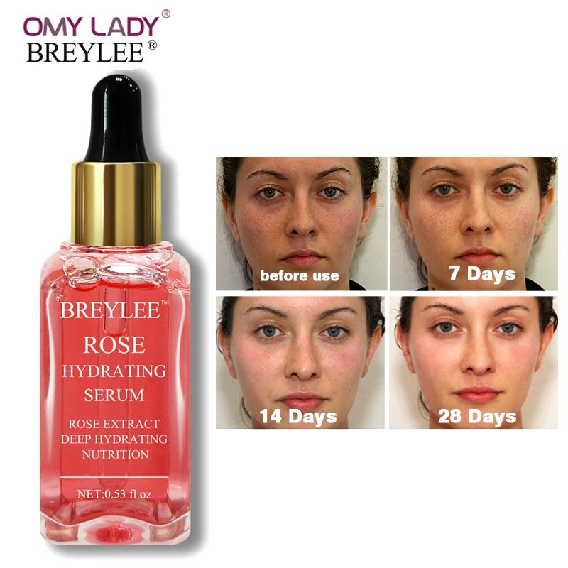 BREYLEE Роза питательная сыворотка глубокое увлажнение уход за кожей лица
