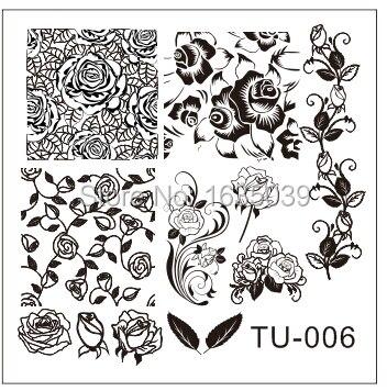 Livraison gratuite konad nail art plate image nail modèle nail outils de beauté, Ongles disque dia 6 cm, 1 pcs / lot.24 designs stamping nail