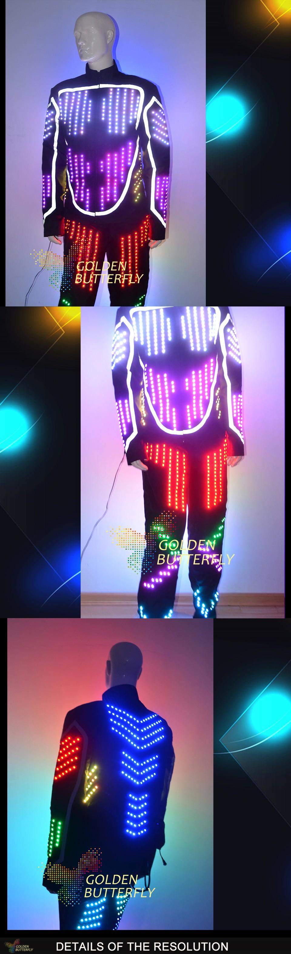 LED tuledega kostüüm